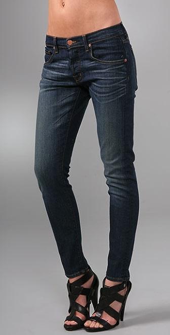 "J Brand Krys Baggy 10"" Ankle Skinny Jeans"