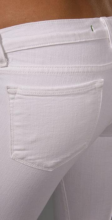 J Brand Cropped Skinny Jeans