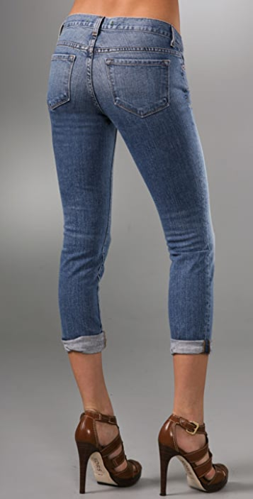 J Brand Low Rise Capri Jeans