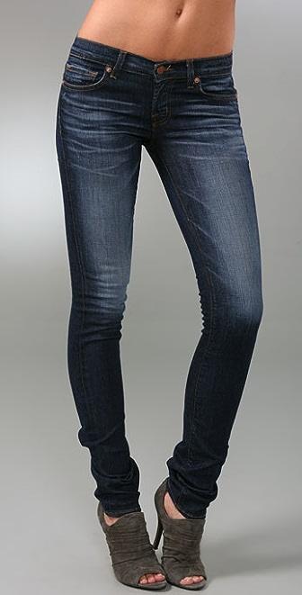 """J Brand 12"""" Pencil Leg Jeans"""