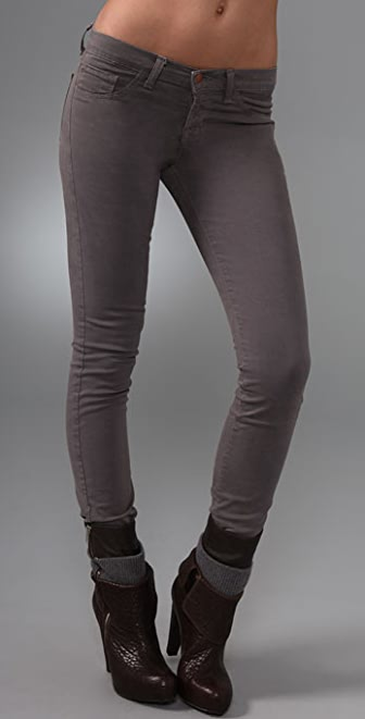 "J Brand 10"" Ankle Twill Skinny Pants"