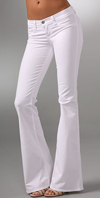 J Brand Babe Elephant Bell Pants