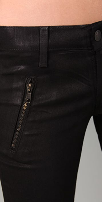 J Brand Agnes Waxed Jeans