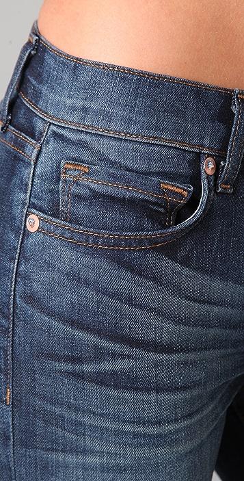J Brand Gigi Cropped Flare Jeans