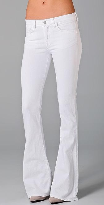 "J Brand 22"" Martini Flare Jeans"