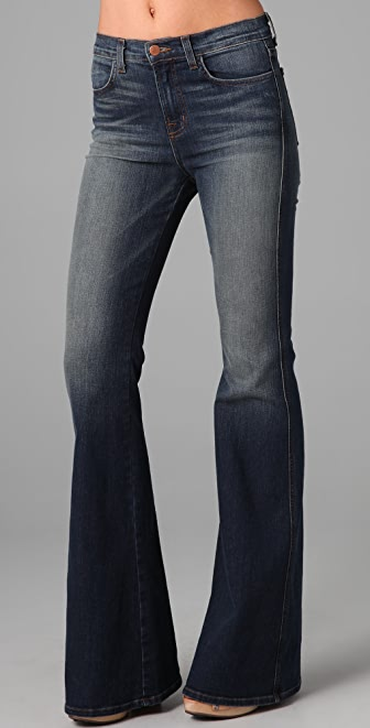 J Brand Kiki High Rise Flare Jeans | 15% off first app purchase ...
