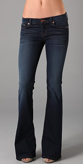 J Brand Babe Bell Bottom Jeans