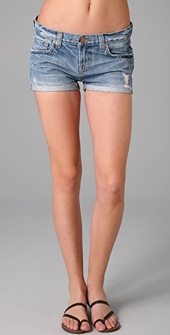 J Brand Cuffed Denim Shorts