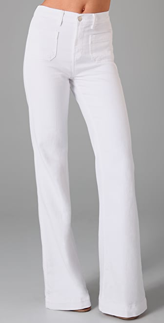 J Brand Bette Wide Leg Trouser Jeans