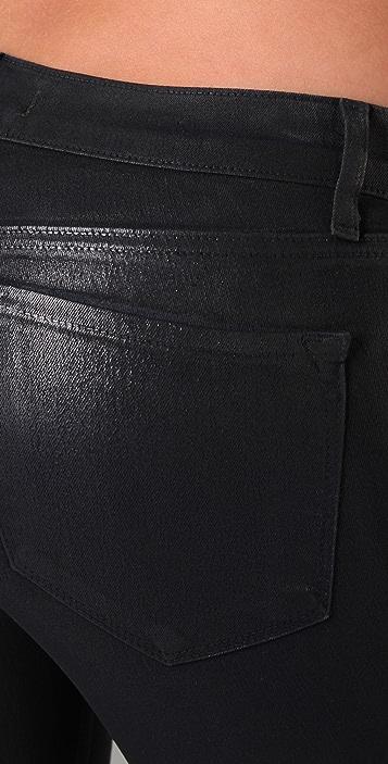 J Brand 901 Waxed Legging Jeans