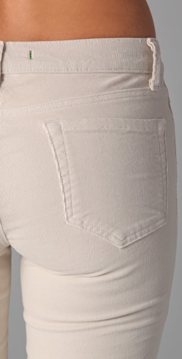J Brand Corduroy 612 Pencil Leg Pants