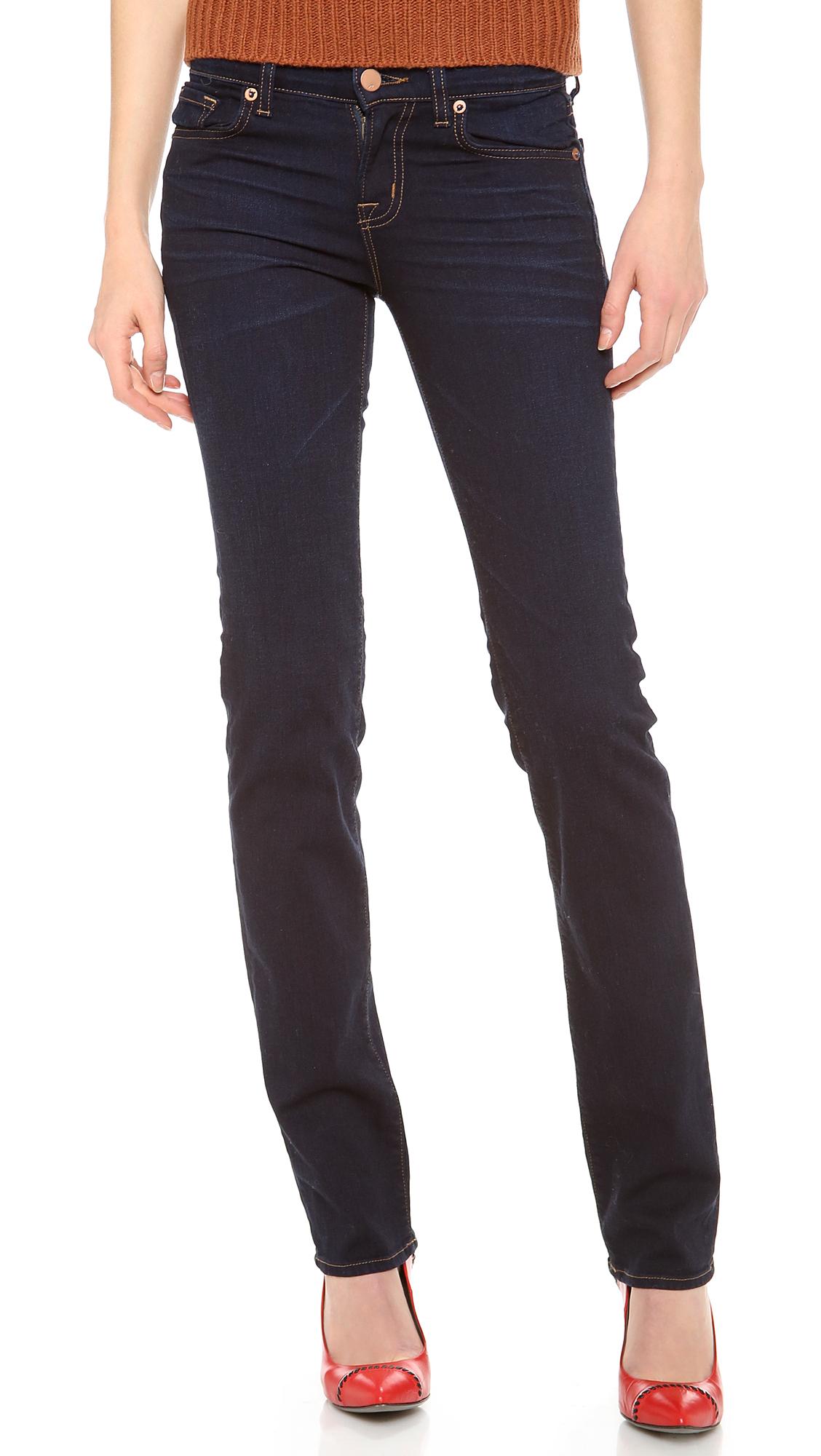 952b216b7df5f J Brand 814 Mid Rise Cigarette Jeans   SHOPBOP