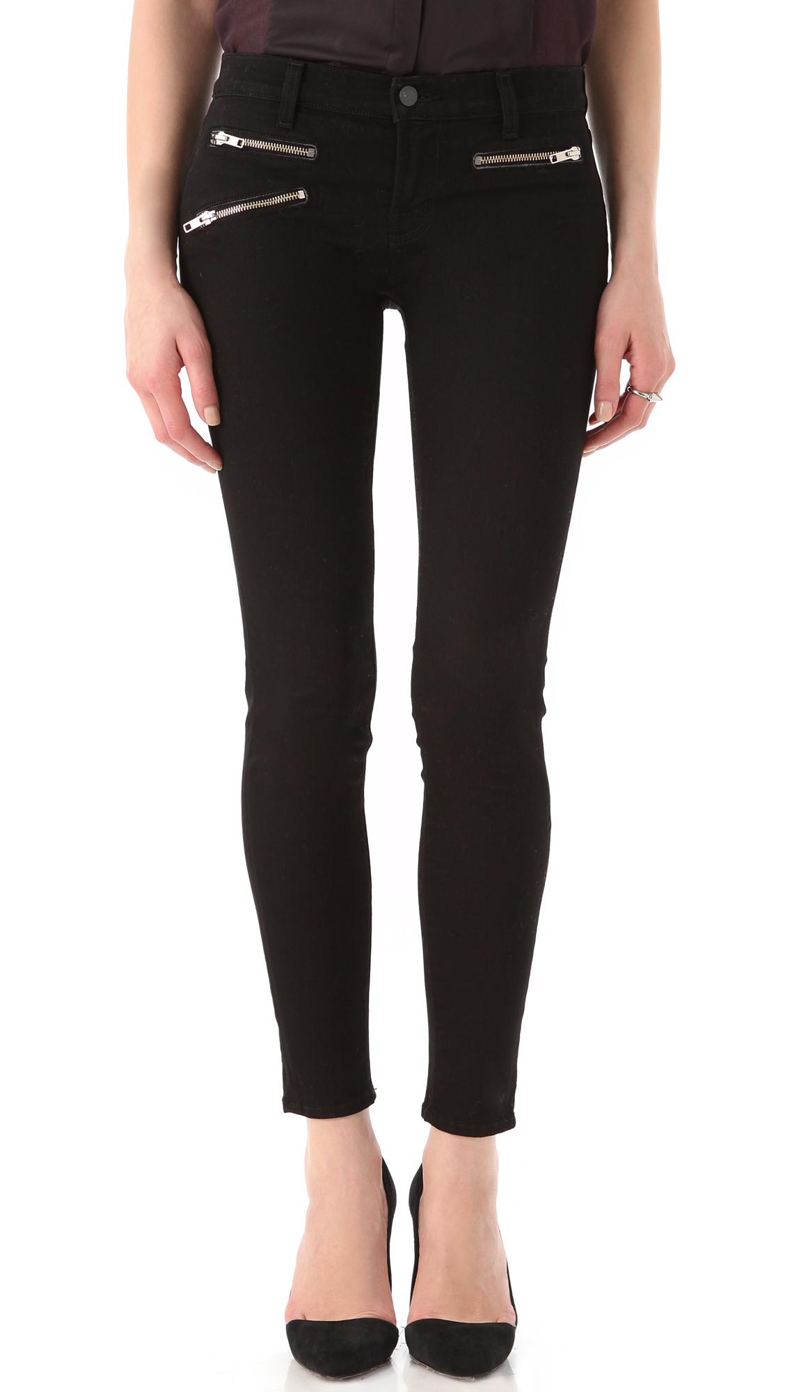 J Brand Zoey Triple Zip Skinny Jeans | SHOPBOP