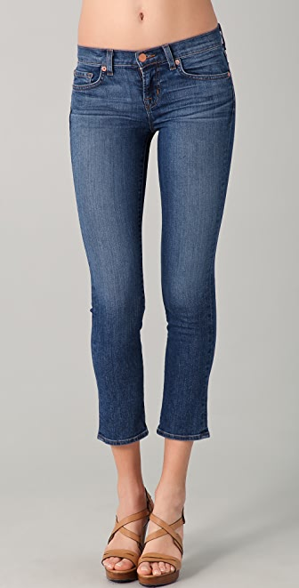 J Brand 7/8 Low Rise Cropped Jeans | 15% off first app purchase ...