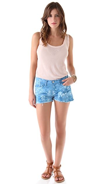 J Brand Twisted Cutoff Shorts
