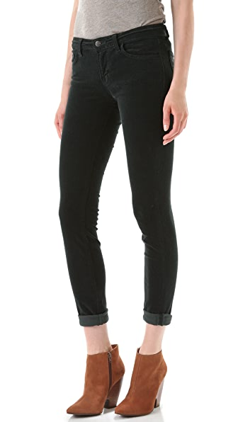 J Brand Mid Rise Pencil Leg Corduroy Pants | SHOPBOP