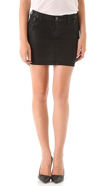 J Brand Nikko Coated Skirt