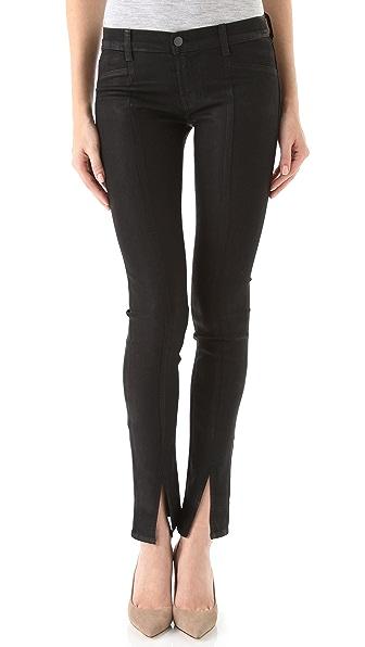 J Brand Vera Mid Rise Skinny Jeans