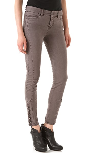 J Brand Fallon Military Skinny Pants