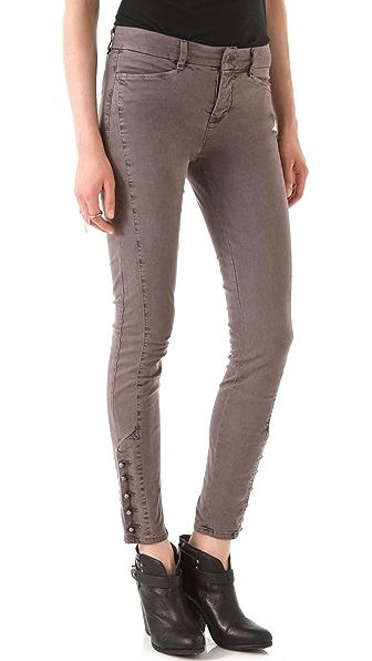 J Brand Fallon Military Skinny Pants