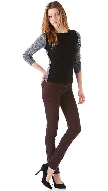 J Brand Sasha Blackened Jeans