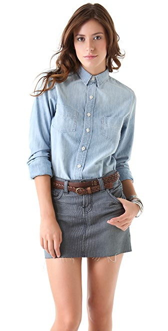 J Brand Daria Chambray Shirt