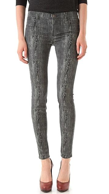 J Brand Powerstretch Print Legging Jeans