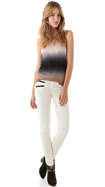 J Brand Zoey Triple Zip Corduroy Pants