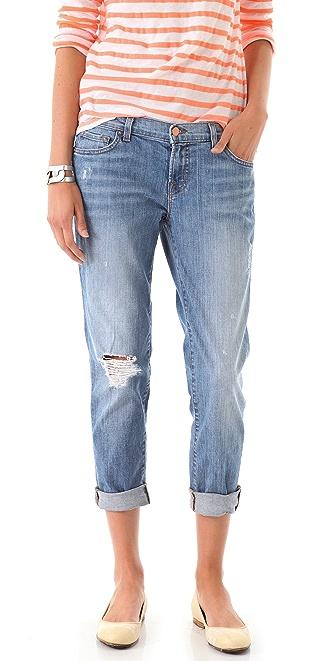 J Brand Aoki Cropped Jeans