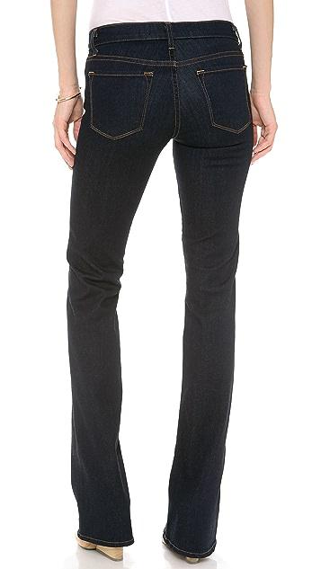 J Brand 818 Mid Rise Slim Boot Leg Jeans