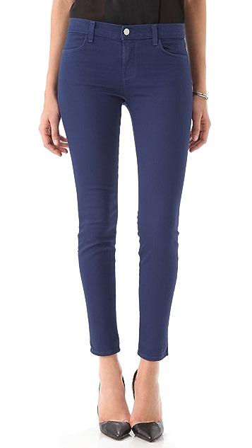 J Brand Danica Moto Zip Skinny Jeans