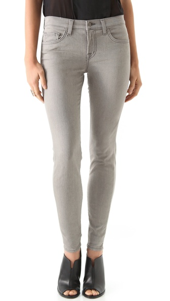 J Brand Legging Jeans with Back Zip