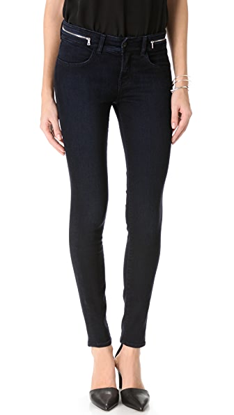 J Brand Kitty Zipper Skinny Jeans