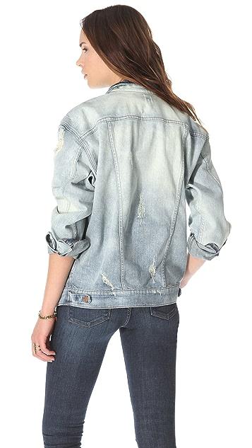J Brand Broken In Boyfriend Denim Jacket