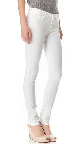 J Brand Mid Rise Rail Jeans