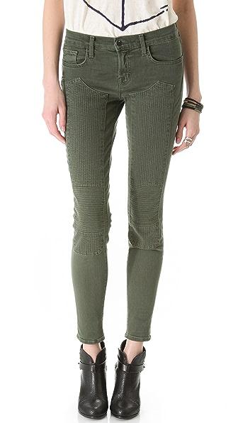 J Brand Roz Moto Skinny Jeans