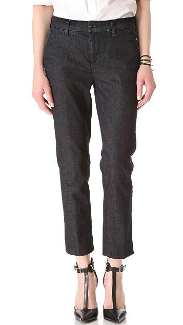 J Brand 8412 High Rise Clean Crop Trouser