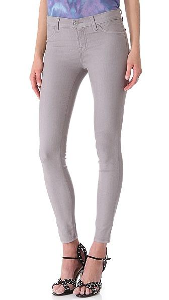 J Brand 801 Coated Legging Jeans