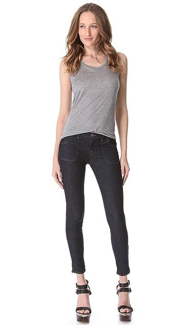 J Brand Retro Patch Pocket Skinny Jeans