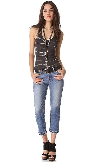 J Brand Aiden Cropped Boyfriend Jeans