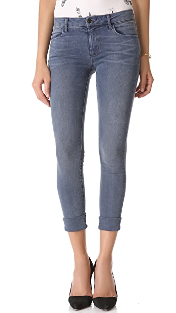 J Brand Anja Photo Ready Cropped Cuff Skinny Jeans