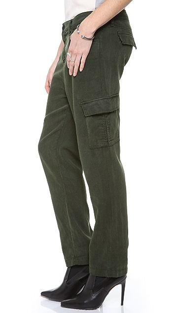 J Brand Lara Cuffed Cargo Pants