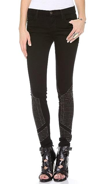 J Brand Shalom Studded Skinny Jeans