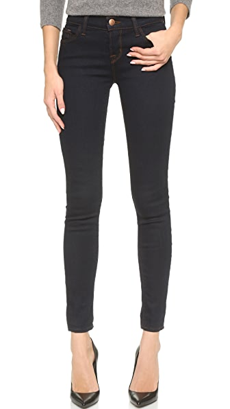 J Brand 811 Mid Rise Skinny Jeans at Shopbop