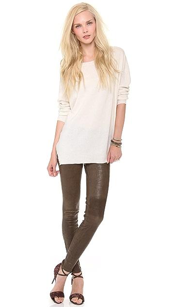 J Brand Super Skinny Leather Pants