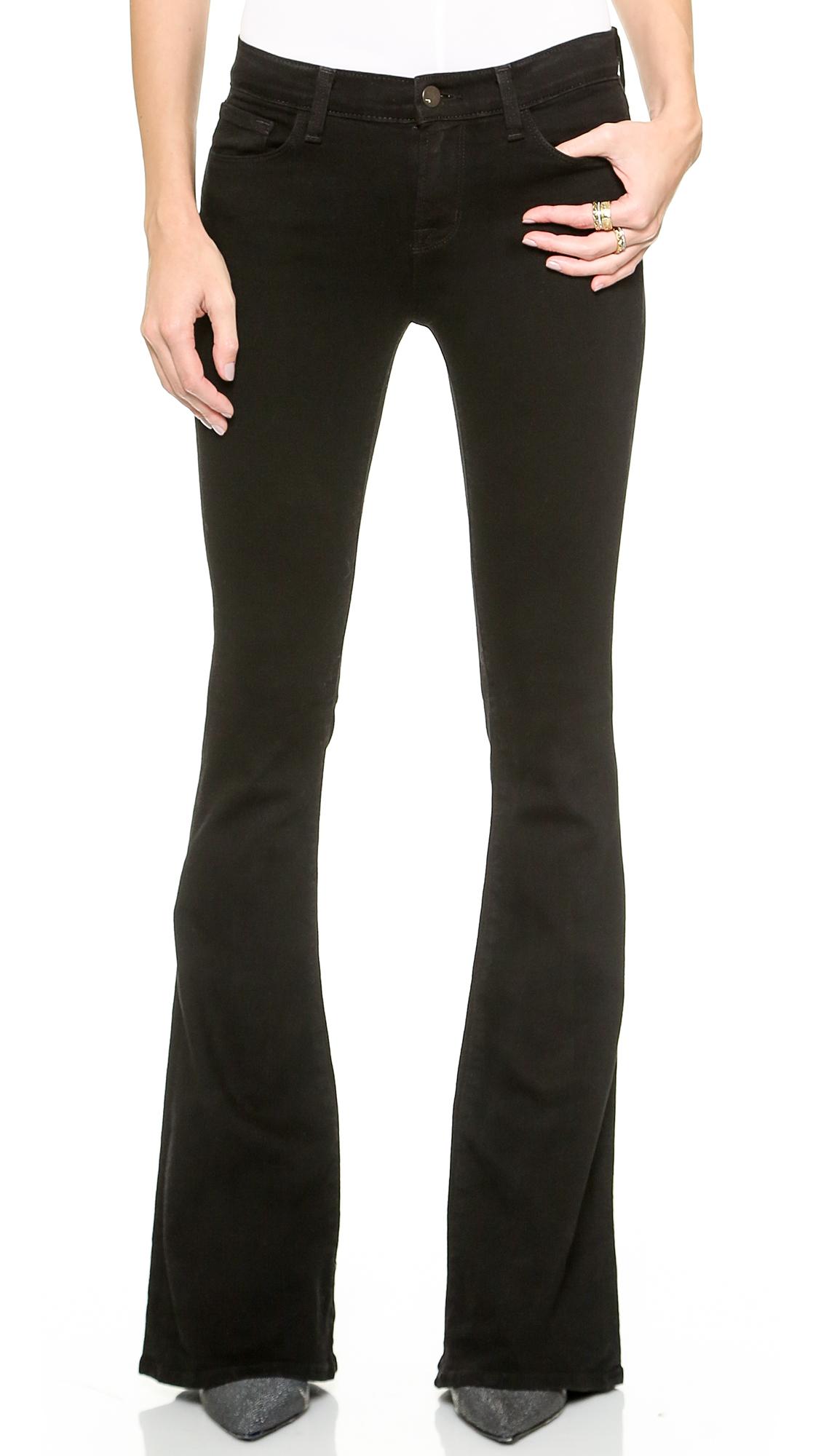J Brand Martini Skinny Flare Jeans | SHOPBOP