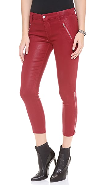 J Brand Carey Jeans with Zipper Detail
