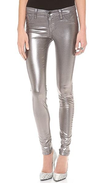 J Brand 815 Mid Rise Super Skinny Jeans