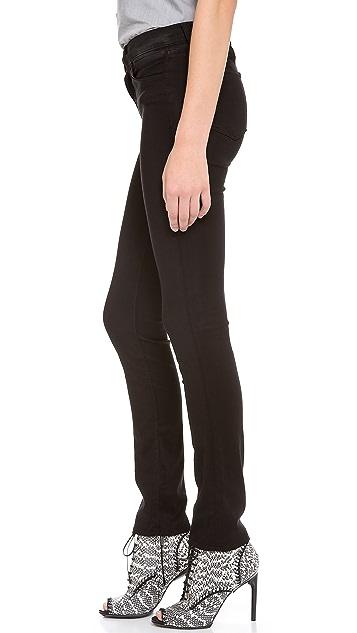 J Brand Luxe Sateen Rail Jeans