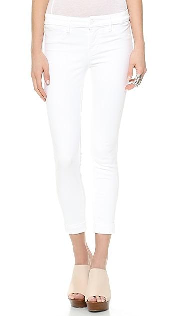 J Brand 8020 Anja Cuffed Crop Jeans